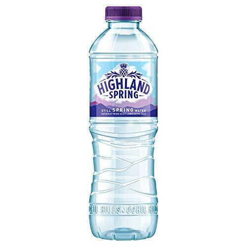 24 x 500 ml Highland Natural StillSpring Water Schraubverschluss Drink Healthy Hydrate