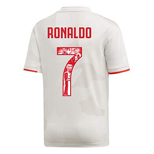 adidas Juventus Kids Away Ronaldo 7 Trikot 2019-2020 (Gallery Style Beflockung) - 176cm