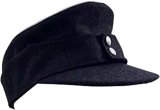 WW2 German Kriegsmarine Officer M43 Field Cap Navy Blue