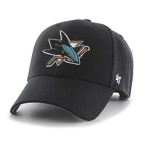 '47 San Jose Sharks Gorra, (Talla del Fabricante: Talla única) Unisex Adulto