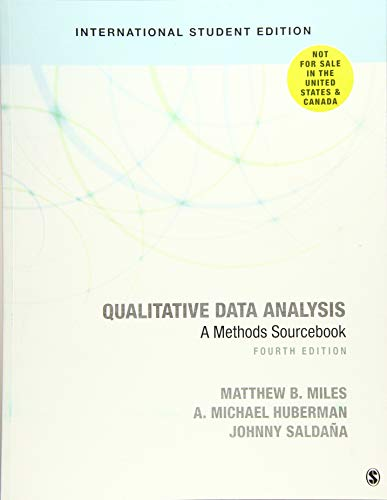 Qualitative Data Analysis - International Student Edition: A Methods Sourcebook