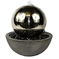 Stainless Steel Sphere Resin Feature