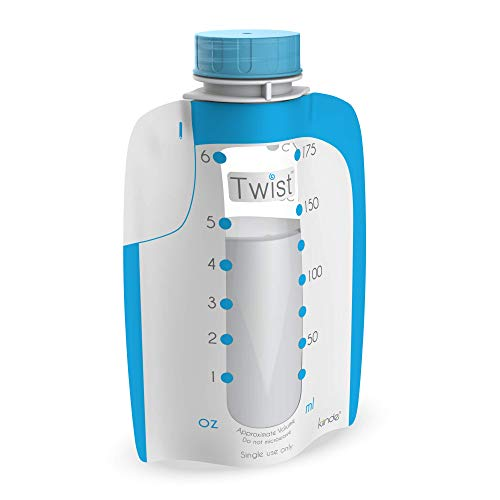 Kiinde Twist Pouch Direct-Pump Direct-Feed Twist Cap Breast Milk Storage Bags...