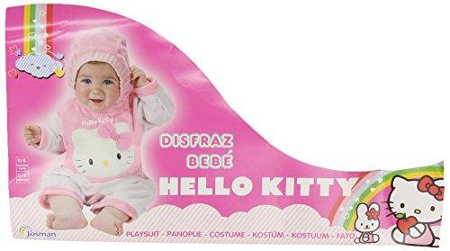 Josman - Disfraz de Hello Kitty para bebé niña, talla 6 (J476-000)