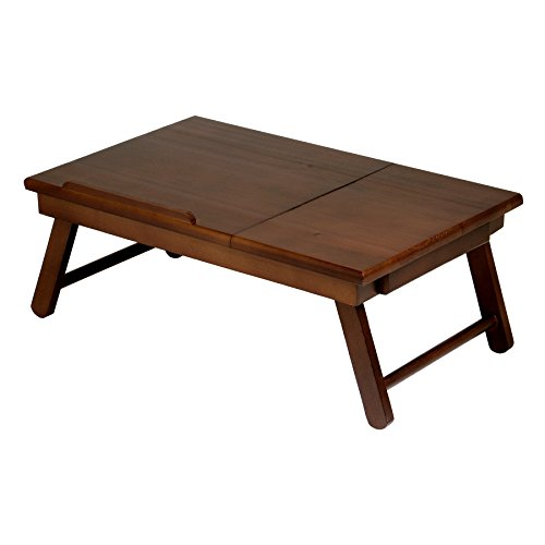 Winsome Wood 94623 Alden Bed Tray Walnut (Renewed)