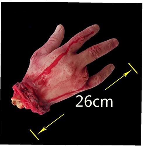 Horror Blutigen Realistische Prosthetic Gefälschte Severed Arm Gebrochen Hand-fuß-streich-Trick-aprilscherz-Halloween-Party Props