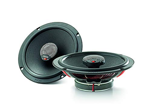 Focal ICU-165 Integration Series 6.5 Inch Coaxial Speakers (Pair), RMS: 70W - MAX: 140W