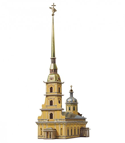 CLEVER PAPER  Puzzles 3D Catedral Pedro y San Pablo, Rusia (14100)