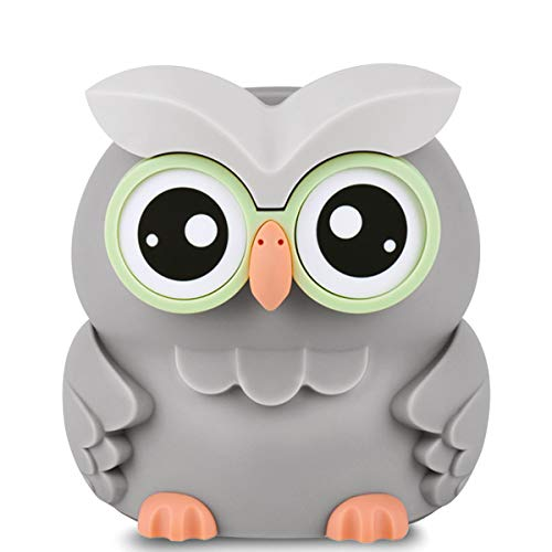 Lefree Piggy Bank,Owl Digital Coin Bank,Money Saving Box with Automatic Counting for Boys,Girls and Adults as a Gift on Any Festivals,Money Bank Powered by 2 AAA Battery,Not Included