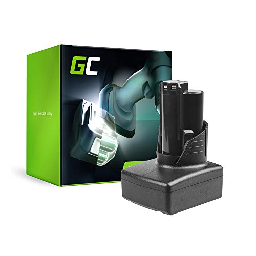 GC® (3Ah 12V Li-Ion celdas) Batería para Milwaukee M12 IR-201B 3/8 de Herramienta Eléctrica