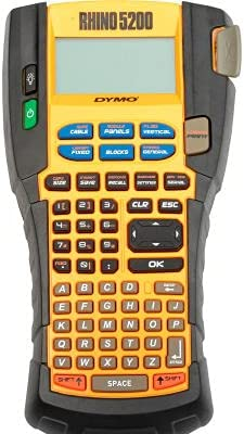 RHINO 5200 Label Printer w New Shipping Free Shipping Kit Case Max 53% OFF Hard