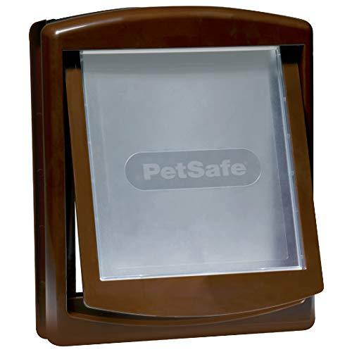 Petsafe Staywell C6066008,Porta per cani, Marrone , 5,7 x 29,4 x 35,2 cm