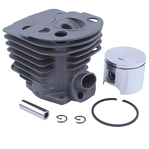 Nikasil Plated Cylinder Piston Bearing Kit For Husqvarna 51 55 Rancher (46mm) Chainsaw Fuel Filter Line Gasket 503 16 91-71