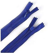 /35/cm 35,6/cm Bleu roi 3//à la main invisible Fermeture /Éclair/ Main/® 2/pcs du No