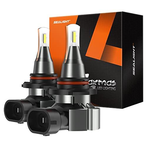 SEALIGHT H10 9140 LED Fog Light Bulbs, Super Bright 6000lm 6000K 300% Brightness...