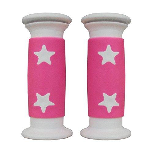 MV-TEK Manopole Bimba Stelle Bianco/Rosa 10 cm Girl Handle Stars White/Pink 10 cm