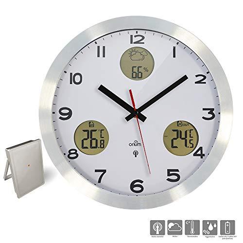 Orium Reloj meteorológico controlado por Radio