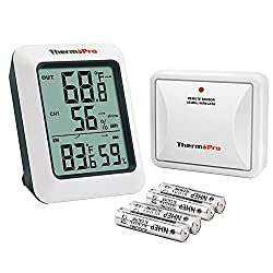 ThermoPro TP60 with wireless remote sensor