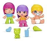 Pinypon-700014032 Niños y Bebés, Pack C, Multicolor (Famosa 700014032)