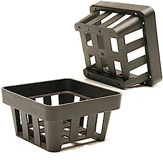 kit Cestinha plástica quadrada com 10 unidades