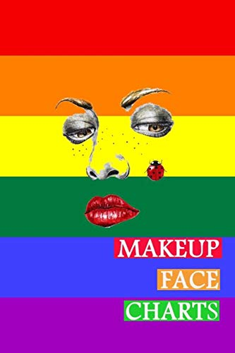Makeup Face Charts: Blank Workbook Face Make-up Artist Chart Portfolio Notebook Journal For Professional or Amateur Practice   Anger Cover