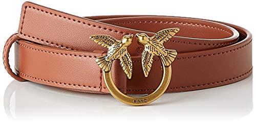Pinko Berry Small Simply 2 Cinturón, L58_cognac, S para Mujer