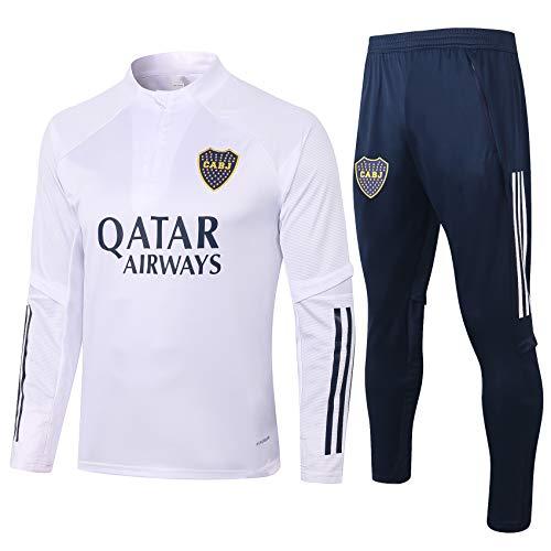 Boca Juniors 20-21 New Season - Kit de chándal de fútbol unisex, conjunto de entrenamiento de...