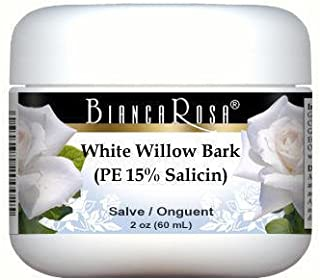 Extra Strength White Willow Bark (PE 15% Salicin) - Salve Ointment (2 oz, ZIN: 514283)