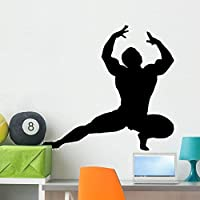 Wallmonkeys WM320949 Body Builder Wall Decal Peel and Stick Graphic (36 in W x 25 in H) [並行輸入品]