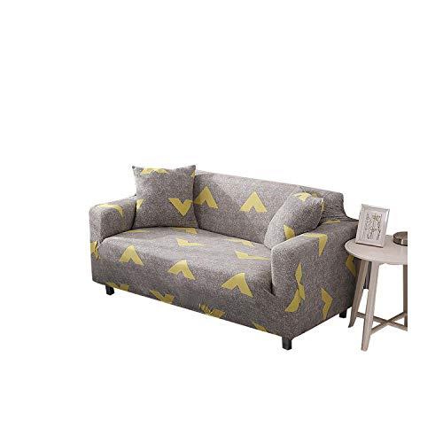 Double-sweet New Home Stretch-Sofabezug Möbelschutz Polyester Loveseat Couchbezug L 1/2/3/4 Sitzer Sesselbezug für...