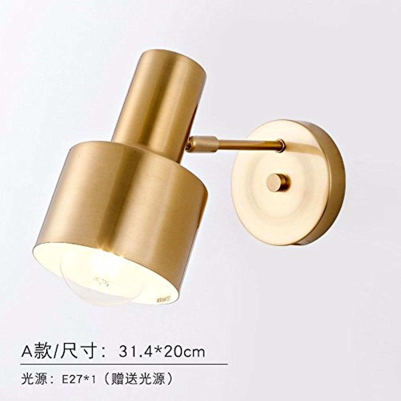 StiefelU LED Wandleuchte nach oben und unten Wandleuchten Schlafzimmer Nachttischlampe Verkehrskorridor Wandleuchten Gold Hotel Wall schwenkbaren Wandleuchten U ab