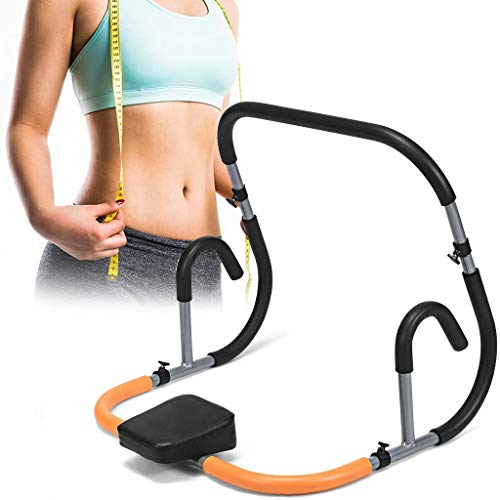Swiusd Ab Fitness Crunch Abdominal Exercise Workout Machine Glider Roller Pushup Gym, Ab...