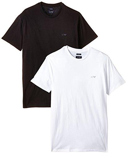 Armani Jeans T-shirt voor heren 06801RM, verpakking van 2