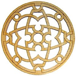 Musicmakers Small Celtic Knot Rosette – 2 inch Diameter