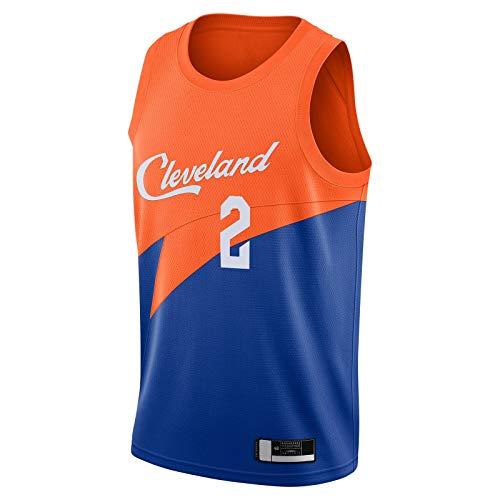DENGPAO Sexton Camiseta de baloncesto Collin Sudadera Cleveland Ropa Cavaliers Hombre Azul -#2 City Edition Swingman Jersey Icon Edition-M