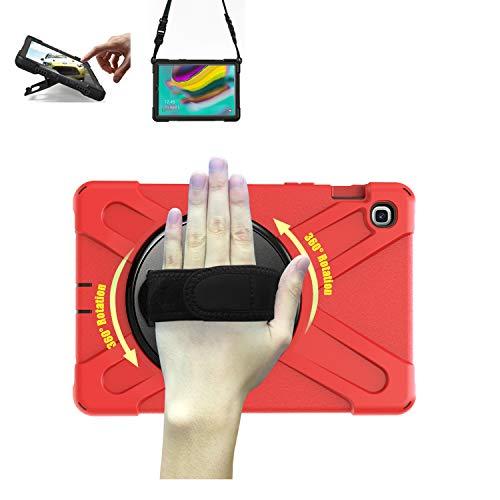 TH000 Hülle für Samsung Galaxy Tab S5e T720 Stoßfeste robuste Ganzkörper-Schutzhülle mit Ständer, Handgriff und Schultergurt 10,5 Zoll-Schutz SM-T720 T725 Case