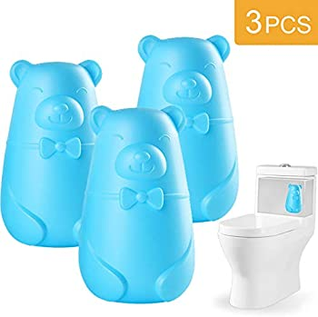 3-Pack Automatic Toilet Bowl Cleaner, Toilet Tank and Cleaning System