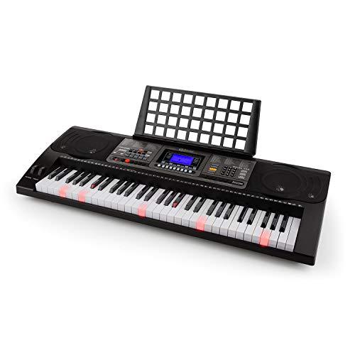 Schubert Etude 450 USB Black Edition - Teclado eléctrico, 61 Teclas, Teclas...