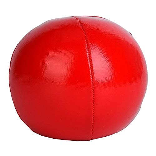 Alomejor Jonglierball 3-TLG Profi Jonglierball Set Clown Jonglierball Set mit Reisetasche(Rot)