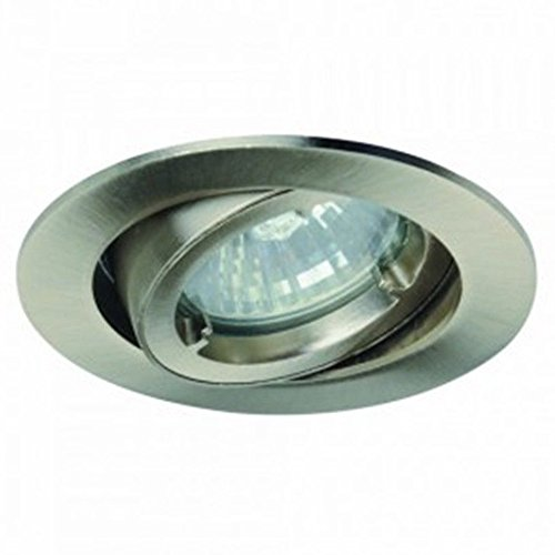 1er Kit Light Topps lt13117 halogène spot Spot Protection Ip23 Blanc chaud 42 W fer