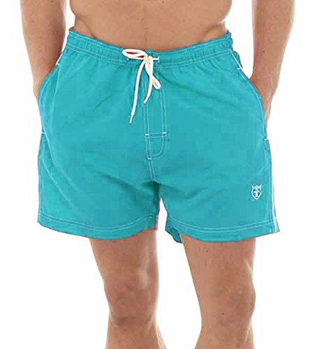 Tom Franks - Short de sport - Uni - Homme - Bleu - Large