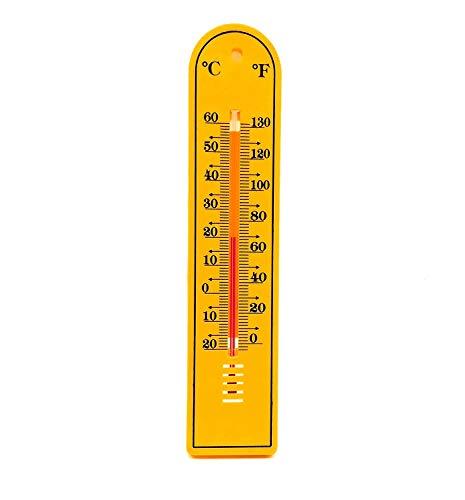 Thermocare for room temperature Wall mounting analog Yellow