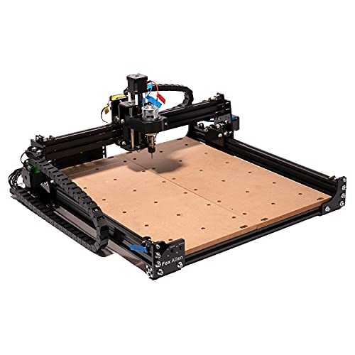 """Masuter 4040 CNC Router Machine, 3-Axis Engraving Milling Machine 15.75x14.96"""" Working Area for Carving Cutting Wood Acrylic MDF Nylon"""