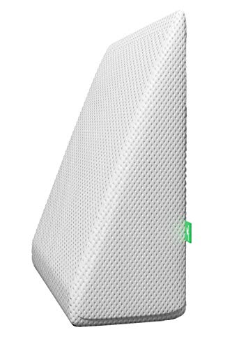 Cushy Form Bed Wedge Pillow, White