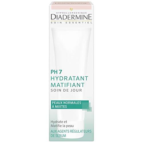 Diadermine - Soin De Jour Hydratant Ph7, Peaux Normales Ou Mixtes - 50Ml - Lot De 3 - Livraison Rapide En France - Prix Par Lot