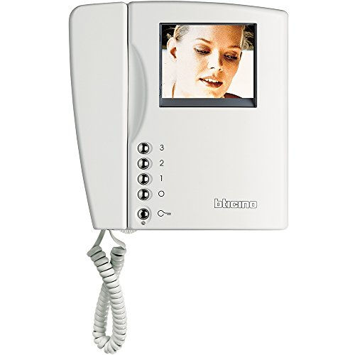 Bticino sistema 2 hilos - Monitor color swing blanco 2hilos digital