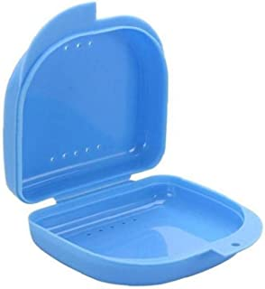 Draagbare Dental Case Plastic Kinderdoos Dental Orthodontische Retainer Case Benture Tanden Retainers Container-1pc Blue O...