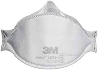 3M Health Care 1870+ Health Care Particulate Respirator Mask, Flat Fold (Pack of 120)