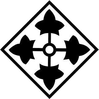 4th Id Infantry Division Fort Carson Army Vinyl Decal Sticker Bumper Car Truck Window- 6