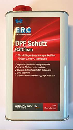 ERC CatClean Dieselmotoren Reinigung Regeneration Diesel Partikelfilter DPF Additiv / 1-Liter-Flasche
